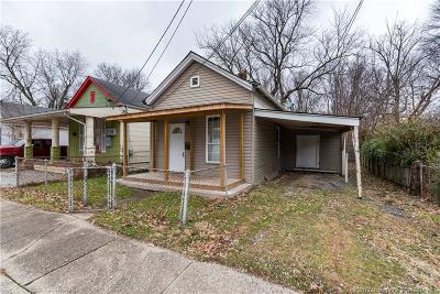Jeffersonville Single Family Home For Sale: 402 Knobloch Avenue