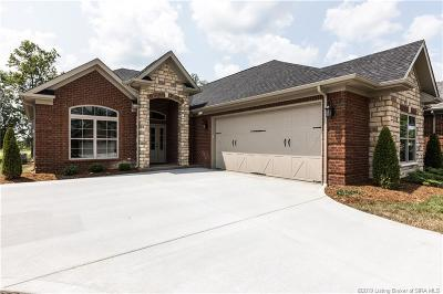 Henryville Single Family Home For Sale: 1751 Bay Hill Place