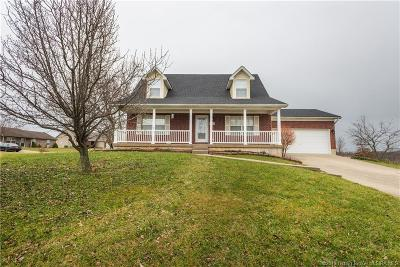 Jeffersonville Single Family Home For Sale: 2834 Horse Trail Road