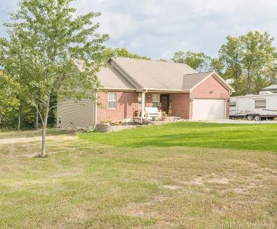 Marysville IN Single Family Home For Sale: $299,900