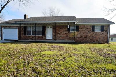 Scott County Single Family Home For Sale: 2139 S Peggy Lane