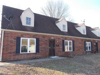 Jeffersonville Single Family Home For Sale: 815-817 Lancelot Court
