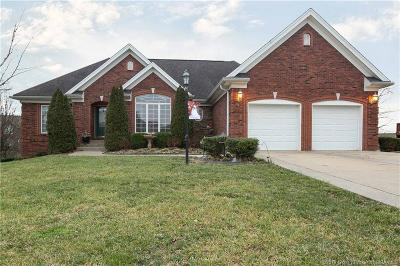 Jeffersonville Single Family Home For Sale: 3105 Ambercrest Loop