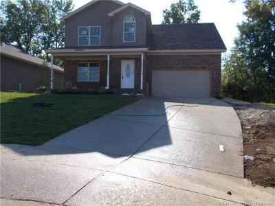 Sellersburg Single Family Home For Sale: 7019 Meyer Loop