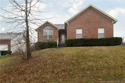 Jeffersonville Single Family Home For Sale: 2606 Meadowview Court