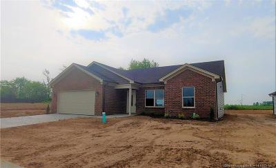 Charlestown Single Family Home For Sale: 8908 Woodford Dr. Lot 28