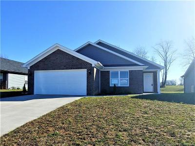 Charlestown Single Family Home For Sale: 8913 Woodford Dr. Lot 30