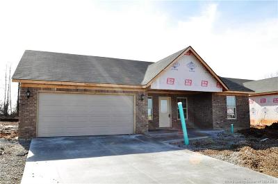 Charlestown Single Family Home For Sale: 8915 Woodford Dr. Lot 31