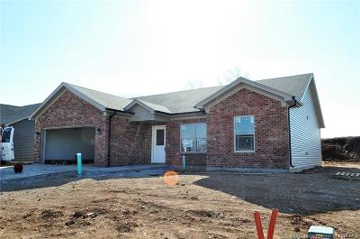 Charlestown Single Family Home For Sale: 8917 Woodford Dr. Lot 32