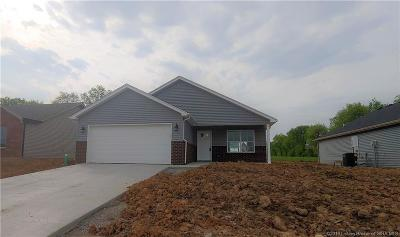 Charlestown Single Family Home For Sale: 8919 Woodford Dr. Lot 33