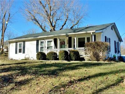 Corydon IN Single Family Home For Sale: $1