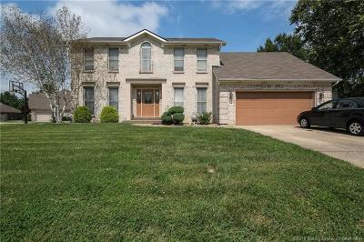 Jeffersonville Single Family Home For Sale: 1803 Elk Pointe Boulevard