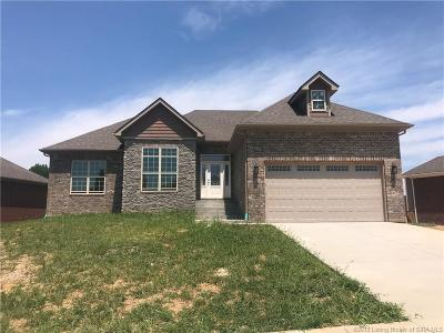 Sellersburg Single Family Home For Sale: 4427 Chickasawhaw Drive