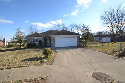 Jeffersonville Single Family Home For Sale: 3302 Norma Court
