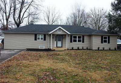 Jeffersonville Single Family Home For Sale: 304 Longview Drive