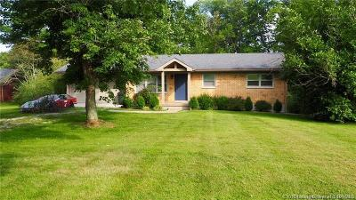 Henryville Single Family Home For Sale: 1720 Blue Lick Road