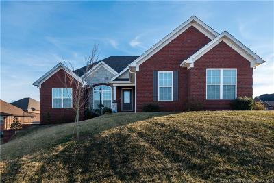 Jeffersonville Single Family Home For Sale: 3023 Amelia Court