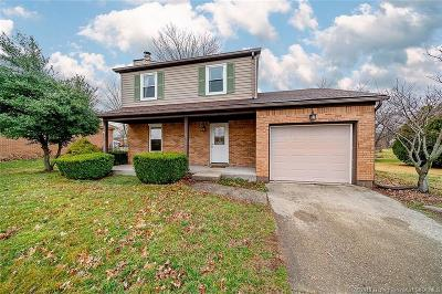 New Albany IN Single Family Home For Sale: $144,900