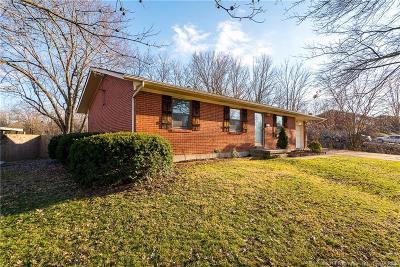 New Albany IN Single Family Home For Sale: $147,500
