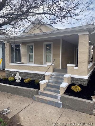 New Albany Single Family Home For Sale: 613 E Elm Street