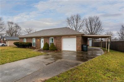 Jeffersonville Single Family Home For Sale: 2505 Bishop Road