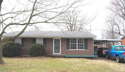 Jeffersonville Single Family Home For Sale: 1403 Northaven Drive