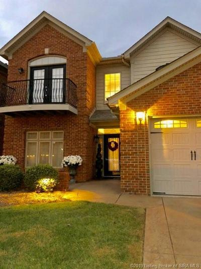 Jeffersonville Single Family Home For Sale: 2313 Turnberry Drive