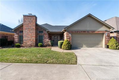 Jeffersonville Single Family Home For Sale: 3103 Greenleaves Drive