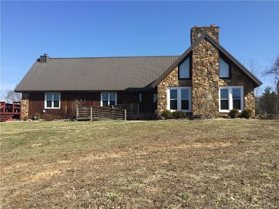 Harrison County Single Family Home For Sale: 4680 Highway 64 NE