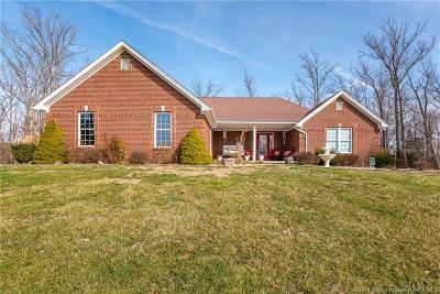 Scott County Single Family Home For Sale: 5280 W Oak Hill Road