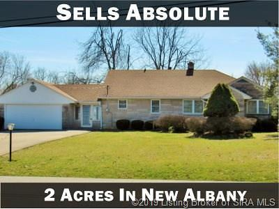 New Albany Single Family Home For Sale: 217 Spickert Knob Road