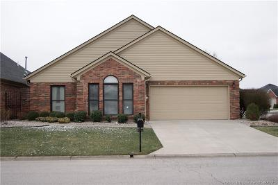 Jeffersonville Single Family Home For Sale: 1622 Greenbriar Court