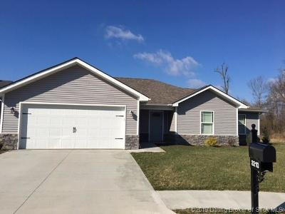 Jeffersonville Single Family Home For Sale: 2210 Liberty Court