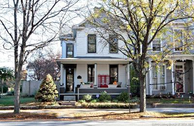 New Albany Single Family Home For Sale: 1014 E Spring Street