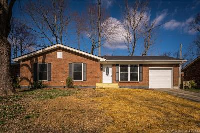 Jeffersonville Single Family Home For Sale: 1714 Elmwood Drive