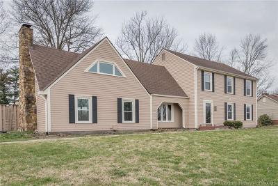 Sellersburg Single Family Home For Sale: 641 Catalpa Drive