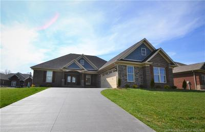 Jeffersonville Single Family Home For Sale: 2997 Crystal Lake Drive
