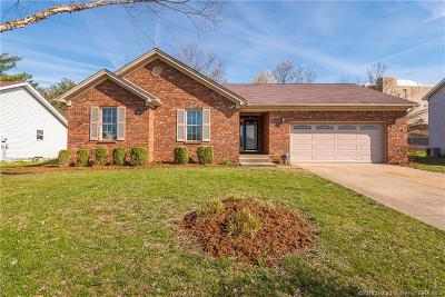New Albany Single Family Home For Sale: 3216 Creekwood Court