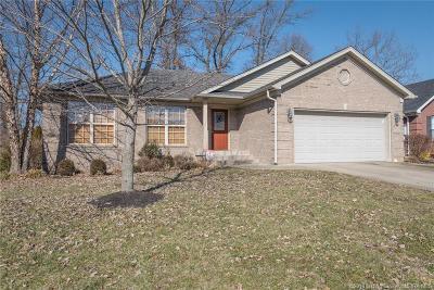 Sellersburg Single Family Home For Sale: 7008 Plum Creek Drive