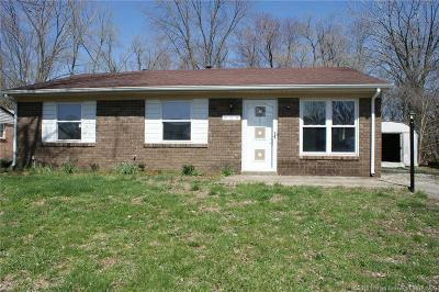 Jeffersonville Single Family Home For Sale: 909 Washington Way