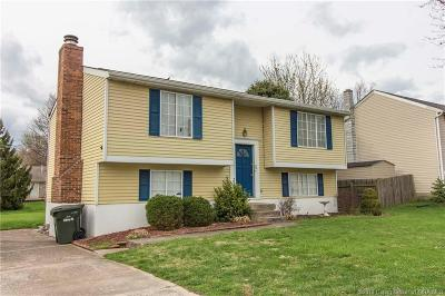Jeffersonville IN Single Family Home For Sale: $144,900
