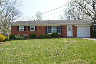 New Albany Single Family Home For Sale: 2006 Mary Lee Drive