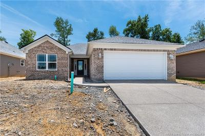 Sellersburg Single Family Home For Sale: 7009 (Lot 47) Meyer Loop