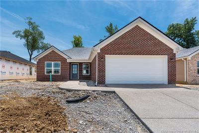 Sellersburg Single Family Home For Sale: 7007 (Lot 48) Meyer Loop
