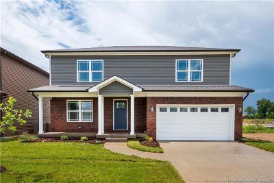 Sellersburg Single Family Home For Sale: 7004 (Lot 145) Meyer Loop