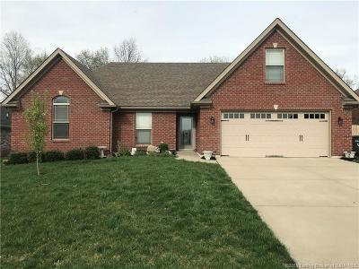 Jeffersonville Single Family Home For Sale: 5621 Scarlet Oak Road