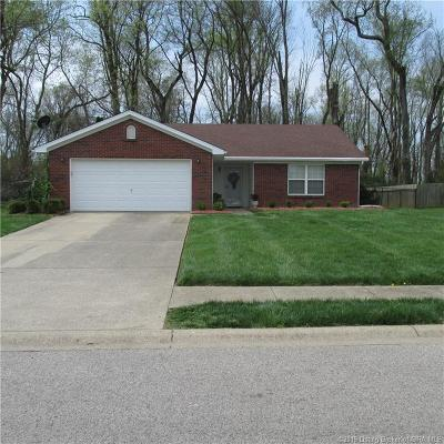 Jeffersonville Single Family Home For Sale: 1210 Sandstone Drive