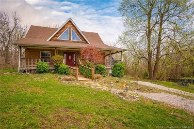 Clark County Single Family Home For Sale: 512 Mount Zion Road