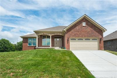 Sellersburg Single Family Home For Sale: 4425 Chickasawhaw Drive