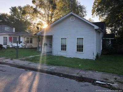 Sellersburg Single Family Home For Sale: 209 Popp Avenue